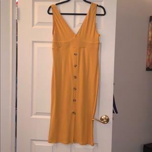 Derek Heart Midi Button Large Dress